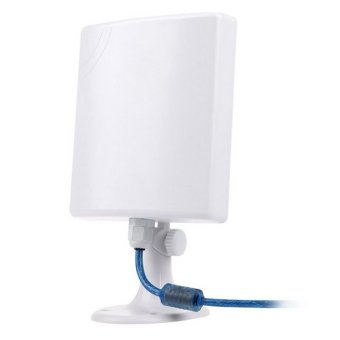 New High Gain Long Distance Outdoor Waterproof CMCC 150M USB Wireless Wifi Adapter White - intl