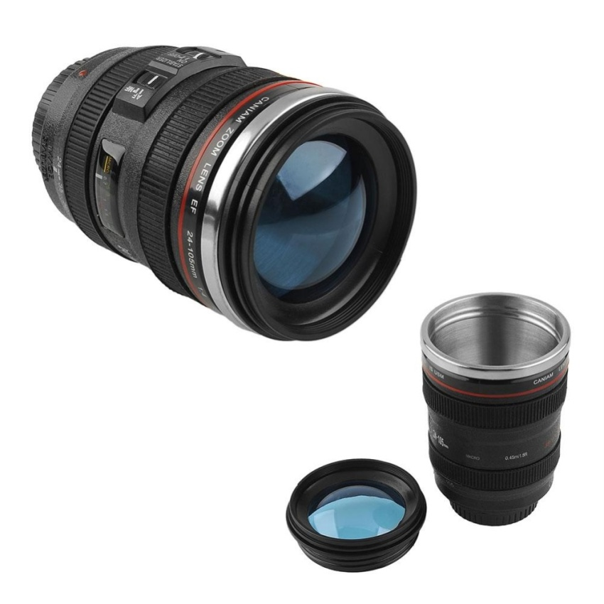 New Zoom Lens Cup Mug Same Size With Canon EF 24-105mm For Coffee Tea Milk Water - intl