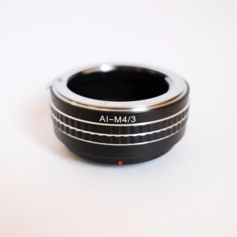 Nikon AI Lens to Micro Four Thirds (m43) Camera Lens Adapter
