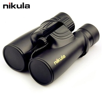 Nikula 10X42 Binoculars Professional Nitrogen Waterproof TelescopePowerful Bak4 Night Vision Binoculars for Hunting,Travel,Outdoor,Sports,Vocal Concert Ect (Black) - intl