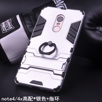 Note4x/note4x all-inclusive drop-resistant ring hard case phone case
