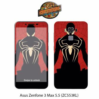 Oddstickers Spider Man Phone Skin Cover for Asus Zenfone 3 Max 5.5