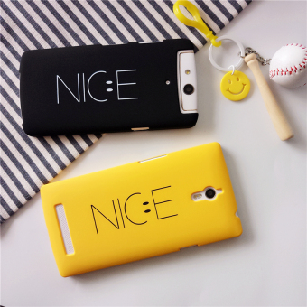 Oppo n1mini/A33/find7/x9007 smiley matte phone case