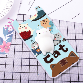 Oppo n1mini/n5117 cute silicone dimensional relaxation phone case