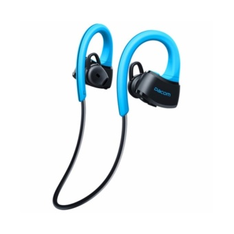 Original DACOM P10 Wireless Sport Headset IPX7 Waterproof Bluetooth Stereo Headphone with Mic for Go Swimming Handfree Call - intl