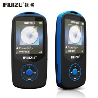 Original RUIZU X06 8G Bluetooth MP3 Music Player 1.8 Inch 100Hr High Quality Lossless Recorder FM Radio Sports