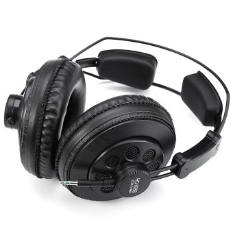 Original Superlux HD668B Semi-open Professional Studio StandardMonitoring Dynamic Headphones For Music Detachable Audio Cable -intl