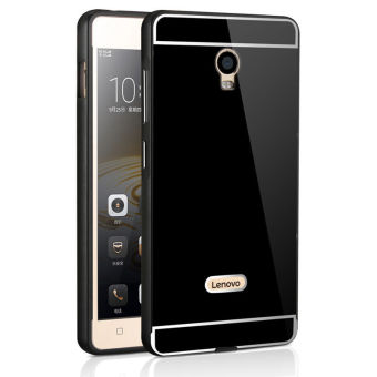 PC Back Case For Lenovo Vibe P1 (Color:Black)