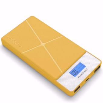 Pineng PN-983 10000mAh Lithium Polymer Power Bank (Yellow)
