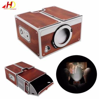 Portable Cardboard Projector 2.0 DIY for Mobile Phone
