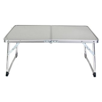 Portable Laptop Desk Folding Laptop Table Stand Computer Notebook Bed (White) - intl ...