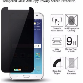 Privacy Tempered Glass Screen Protector for Samsung Galaxy J7 Prime
