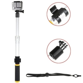 Pro A1 Aquapod Floating Monopod and Pole for GoPro and Other ActionCameras (Clear/Black/Yellow) Price Philippines