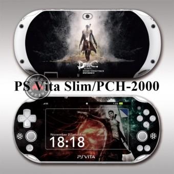 Protective Vinyl Sticker Skin Decal Cover for PlayStation Vita 2000/PS Vita Slim/PCH-2000 DMC - intl ...