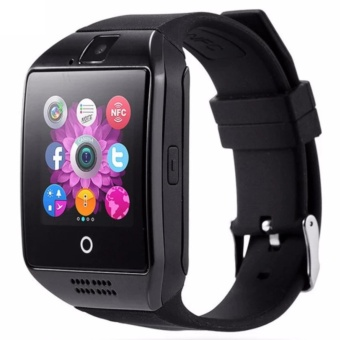 Q18 Bluetooth Touch Screen Smart Watch For Smartphone (Black)