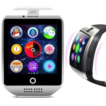 Q18 Touch Screen Smart Watch With SIM And TF Card Bluetooth MP3 MP4 Camera Smart Bracelet For Android And IOS - intl