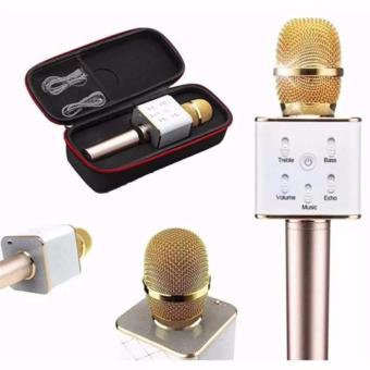 Q7 Portable Rechargeable Wireless Bluetooth Speaker Microphone Mic