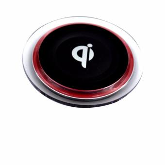 Qi Wireless Charger Pad (Red/Black)