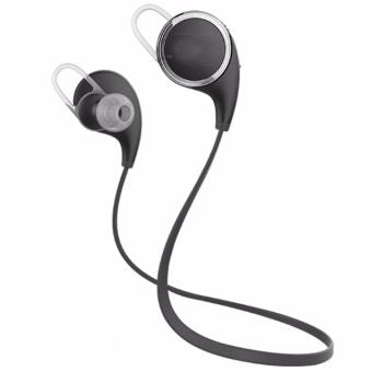 QY8 Original Sports Wireless Bluetooth Headset with HD Microphone(Black)
