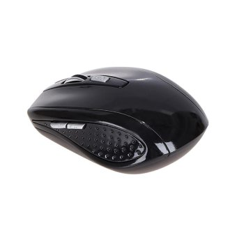 Rechargeable Wireless Mini Bluetooth 3.0 6D 1600DPI Optical Gaming Mouse Mice Black - intl Price Philippines