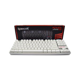Redragon K552W Kumara Mechanical Gaming Keyboard White