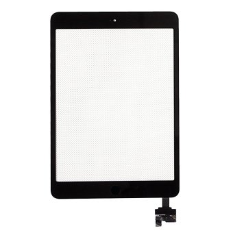 Replacement For Apple iPad Mini 1 2 Touch Screen Front Glass Digitizer with IC and Repair Tools Black
