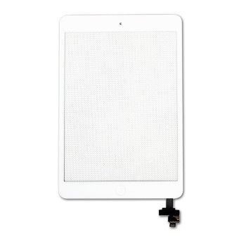 Replacement For Apple iPad Mini 1 2 Touch Screen Front Glass Digitizer with IC and Repair Tools White