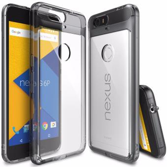 Ringke Fusion Shock Absorption Bumper Hybrid Case for Google Nexus6P (Smoke Black)