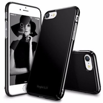 Price Roybens Premium Glossy Hard Case For Apple Iphone 7 Jet Black Source · Ringke Slim