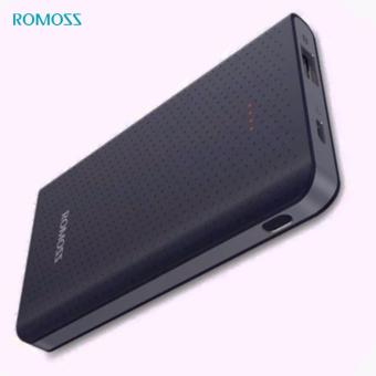 ROMOSS Sense Mini 5000mAh Portable Charger, Ultra Slim and Lightweight Pocket Friendly Power Bank (Black)