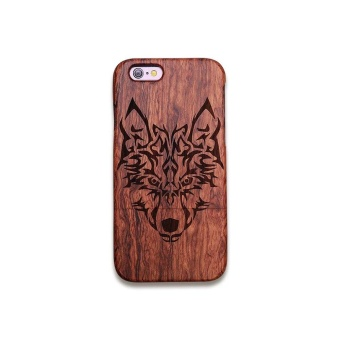 Rosewood True Wood Phone Case for Apple iPhone 5/5s/se - TribalWolf - intl