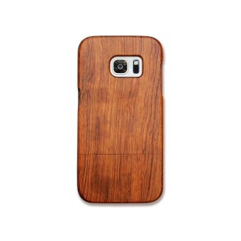 Rosewood True Wood Phone Case for Samsung Galaxy S7 edge - RawRosewood - intl