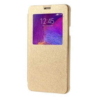 S-View Flip Cover for Samsung Galaxy A8 (Gold) Price Philippines