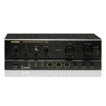 Sakura AV-3022 300W X 2 Mic Mixing Amplifier Price Philippines