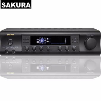 Sakura AV-325 150W X 2 Home Theater Amplifier (Black) Price Philippines
