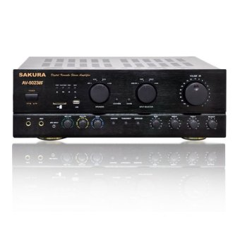 Sakura AV-5023US Karaoke MP3 Amplifier (Black) Price Philippines