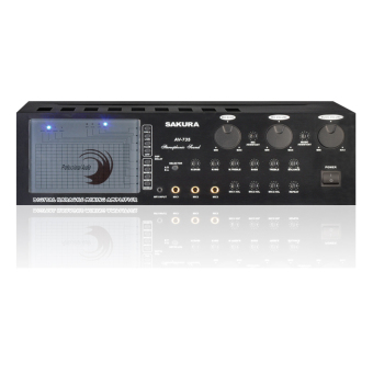 Sakura AV-735 Stereo Mixing Amplifier (BLACK) Price Philippines
