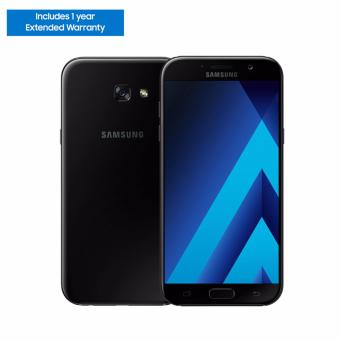 Samsung Galaxy A7 2017 32GB (Black Sky) - 1 Year Extended Warranty