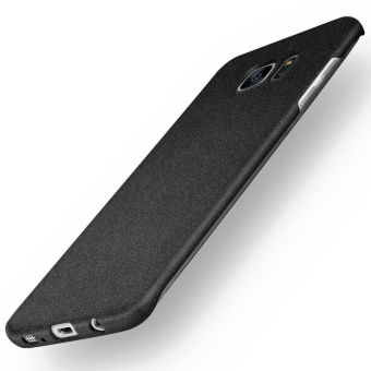 Samsung Galaxy S7 Edge Case Aokery Thin Fit Galaxy S7 Edge Case with Non Slip Matte Surface for Excellent Grip for Samsung Galaxy S7 Edge Black - intl