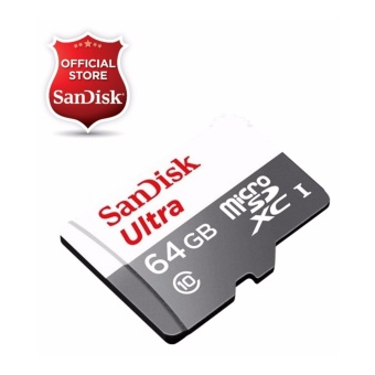 Sandisk Ultra Micro SDXC 64GB Class 10 UHS-I SDSQUNS-064G Memory Card - NEW MODEL (Speed up to 80MB/s)