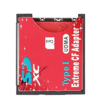 SD SDHC SDXC To CF Compact Flash Memory Card Adapter Reader- Intl Price Philippines