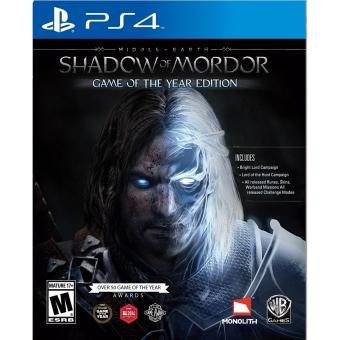 SHADOW OF MORDOR GAME OF THE YEAR EDITION PS4 GAME R3,R1 MINTCONDITION