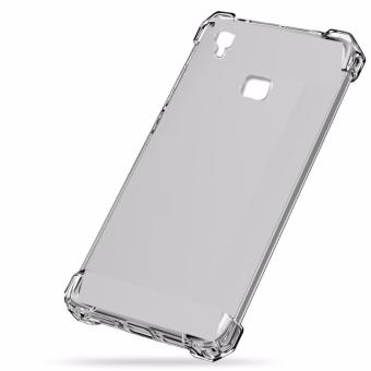 Shockproof TPU + PC Case for VIVO V3 Max (Clear )
