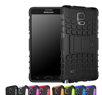 SHUNJIA Soft Hard Shell 2 in 1 Tough Protective Cover Case with Kickstand .