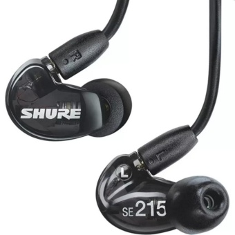 Shure SE215 Sound Isolating Earphones with Single Dynamic MicroDriver(black) - intl Price Philippines