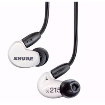 Shure SE215 Sound Isolating In-Ear DJ Monitoring Earphones White - intl Price Philippines
