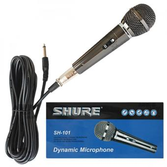 Shure SH-101 Unidirectional Dynamic Vocal Microphone (Grey) Price Philippines