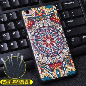 Silica Gel Soft Phone Case for VIVO Y55 (Multicolor)