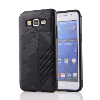 Silicon + PC Combo Case for Samsung Galaxy Grand Prime G530 (Black)