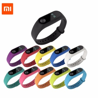 silicone soft sport replacement wrist belt strap for xiaomi mi b2 bands watchb(silicone 11pcs